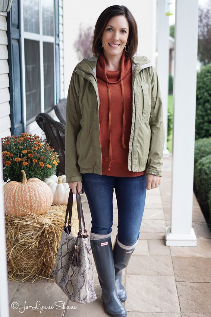 How to Style Rain Boots for Fall