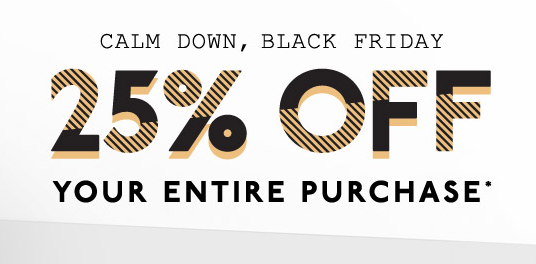 25% off UGG Black Friday Sales