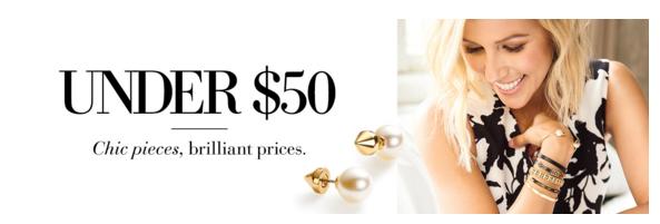Stella & Dot Gifts Under $50