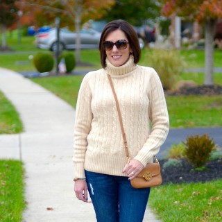 Cambridge Cable Chunky Turtleneck