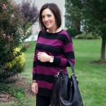25 Days of Winter Outfits: Stripes & Leggings