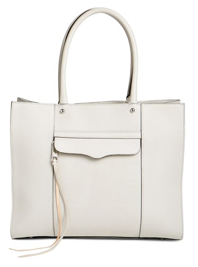 'Medium MAB' Leather Tote