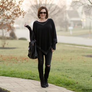Winter Fashion: All Black Outfit