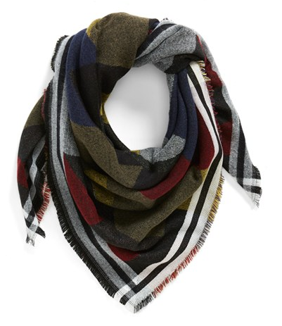 colorblock scarf