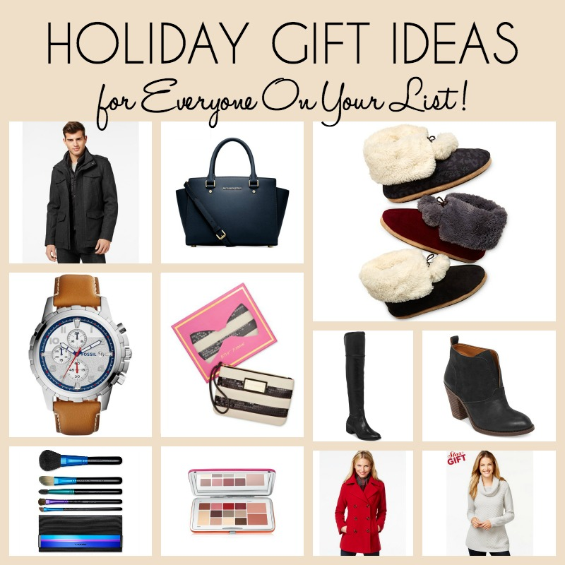 Holiday Gift Ideas for EVERYONE on your list at Macy's + Take an EXTRA 25% off with their Friends & Family Event
