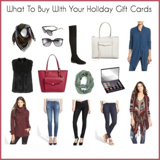 What To Buy With Your Holiday Gift Cards