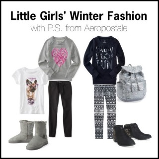 Little Girls' Winter Fashion with P.S. from Aeropostale
