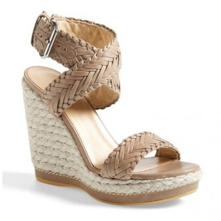 Stuart Weitzman Elixir Wedge Sandals