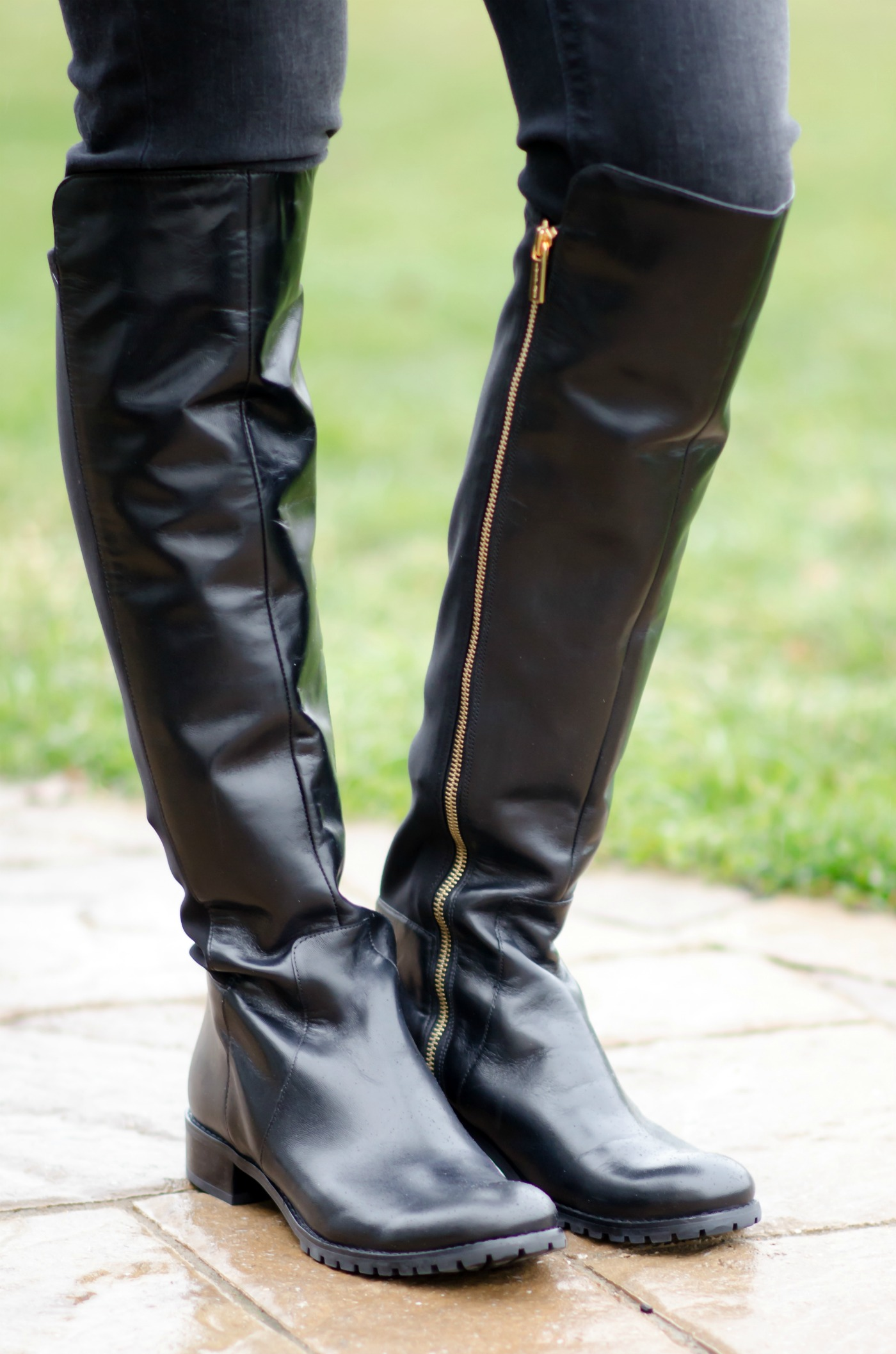 Product - Gaby14s by Bamboo, Black Suede OTK Over Knee Thigh High Pull-On Slouch Suede Boots w Threaded Lug Sole. Product Image. Price $ Product Title. Product - DYMADE Women's Chunky Heel Tied up Side Zip Suede Knee High Boots. Product Image. Price $ 89 - .