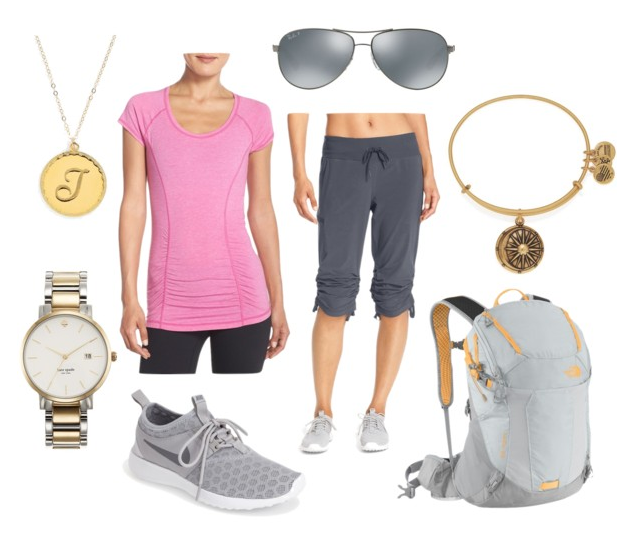 "What to Wear to Disney World: an ""Athleisure"" look that is cute and functional!"