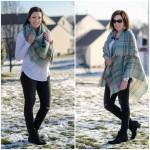 Blanket Scarf/Toggle Poncho