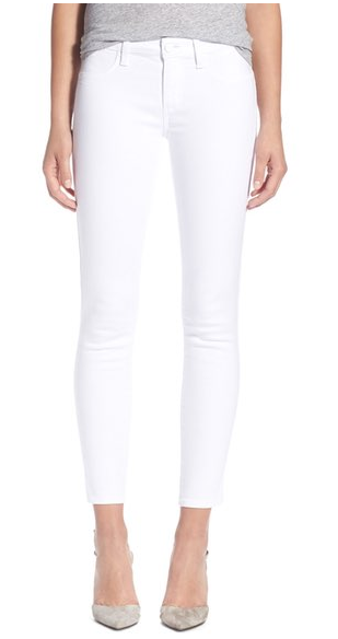 Spring Essentials: White Jeans