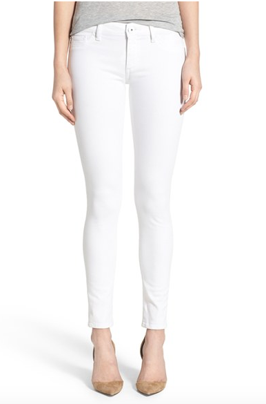 Spring Wardrobe Essentials: white jeans