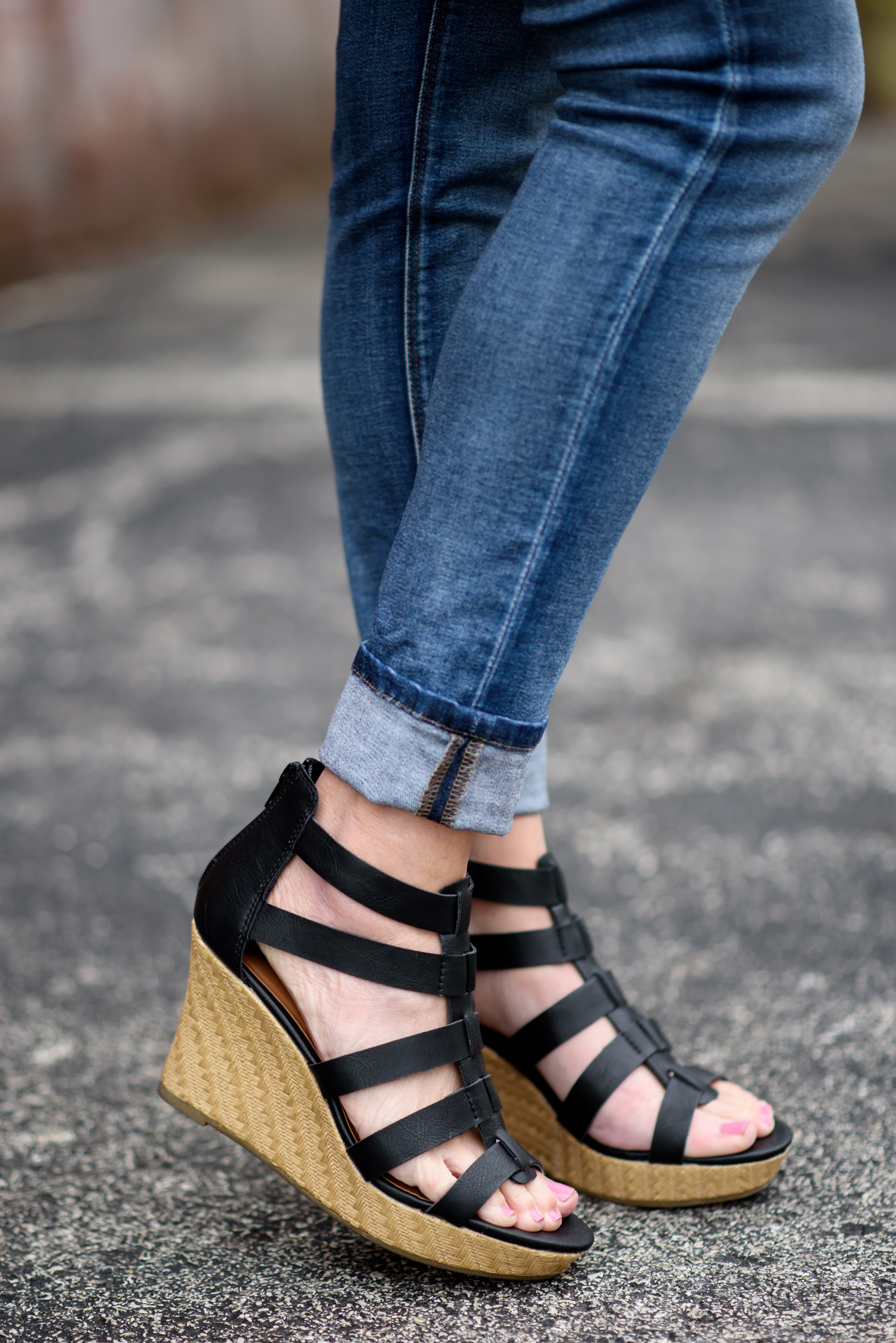 Caged Wedge Sandals Paylessforstyle