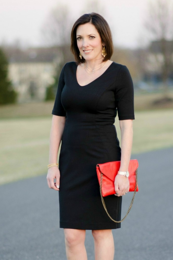 What Color Shoes Go With Black Dress