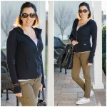 What I Wore: Fleece Front Hoodie + Cargo Pants