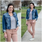 Blush Jeans + Denim Jacket