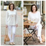 What I Wore: White Neutrals