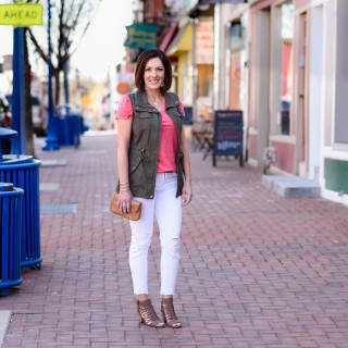 How to Wear a Utility Vest for Spring