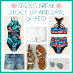 Spring Break Stock-Up Event at American Eagle Outfitters