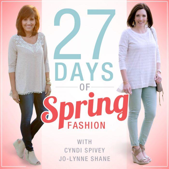 27 Days of Spring Fashion Recap #FashionFriday