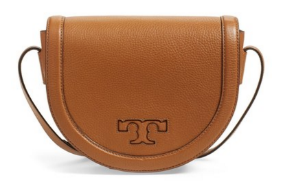 Tory Burch Spring Sale: Tory Burch 'Serif T' Leather Saddle Bag