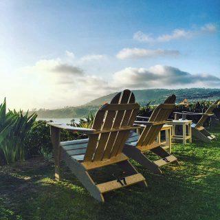 adirondack chairs at The Ritz Carlton Laguna Niguel