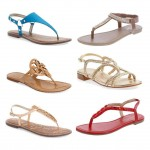 Flat Sandals for Summer #FashionFriday