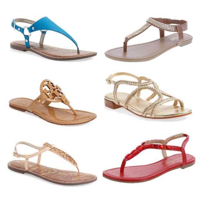 Flat Sandals for Summer