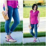 Pink Sandals: Styling the Sam Edelman Gigi in Pop Fuchsia