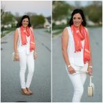 Fashion Over 40: How to Style a Spring Scarf