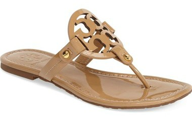 summer wardrobe essentials: neutral flat sandals