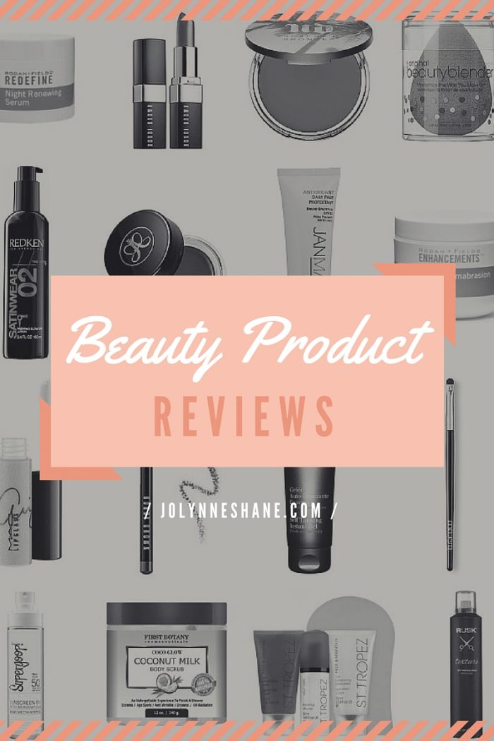 Beauty Product Picks and Pans
