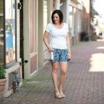 What to Wear with Printed Shorts