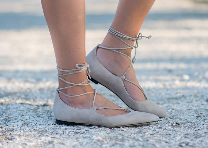 M.Gemi Brezza Lace-Up Ballet Flats: The It Shoe for 2016