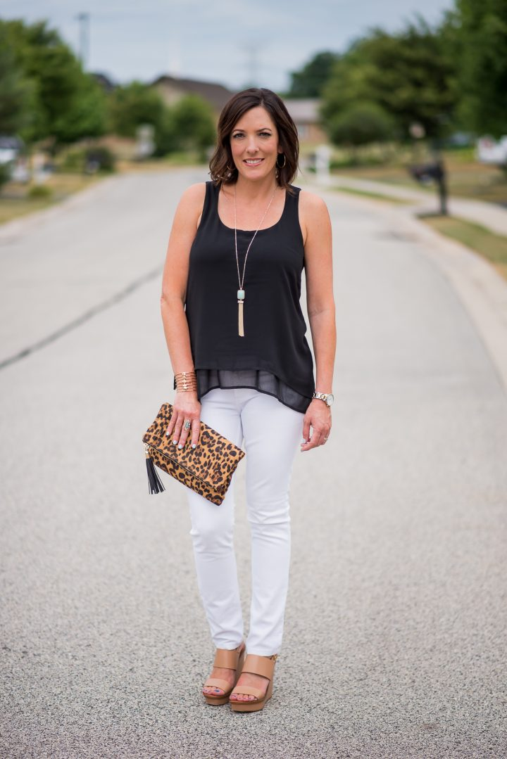Versatile Layered Tank + A Discussion About Fabric Care