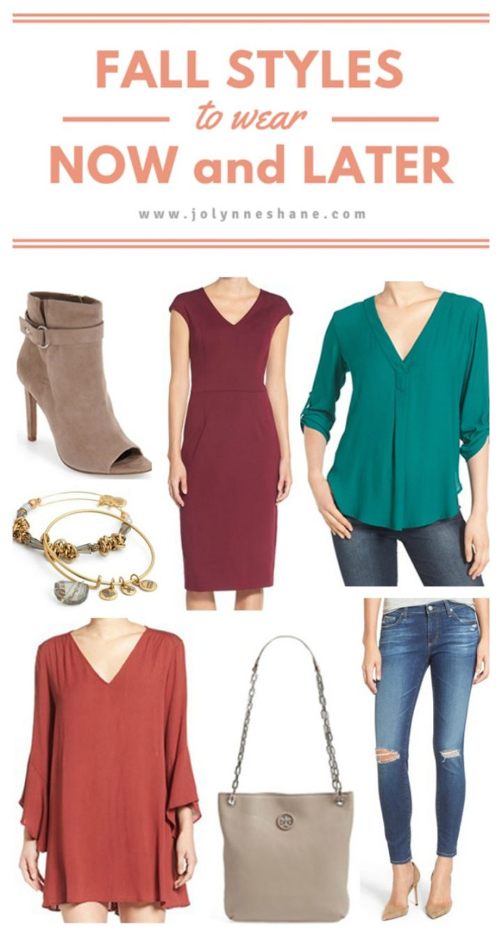 Fall Styles to Wear Now and Later