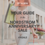 Your Guide to the Nordstrom Anniversary Sale #NSale