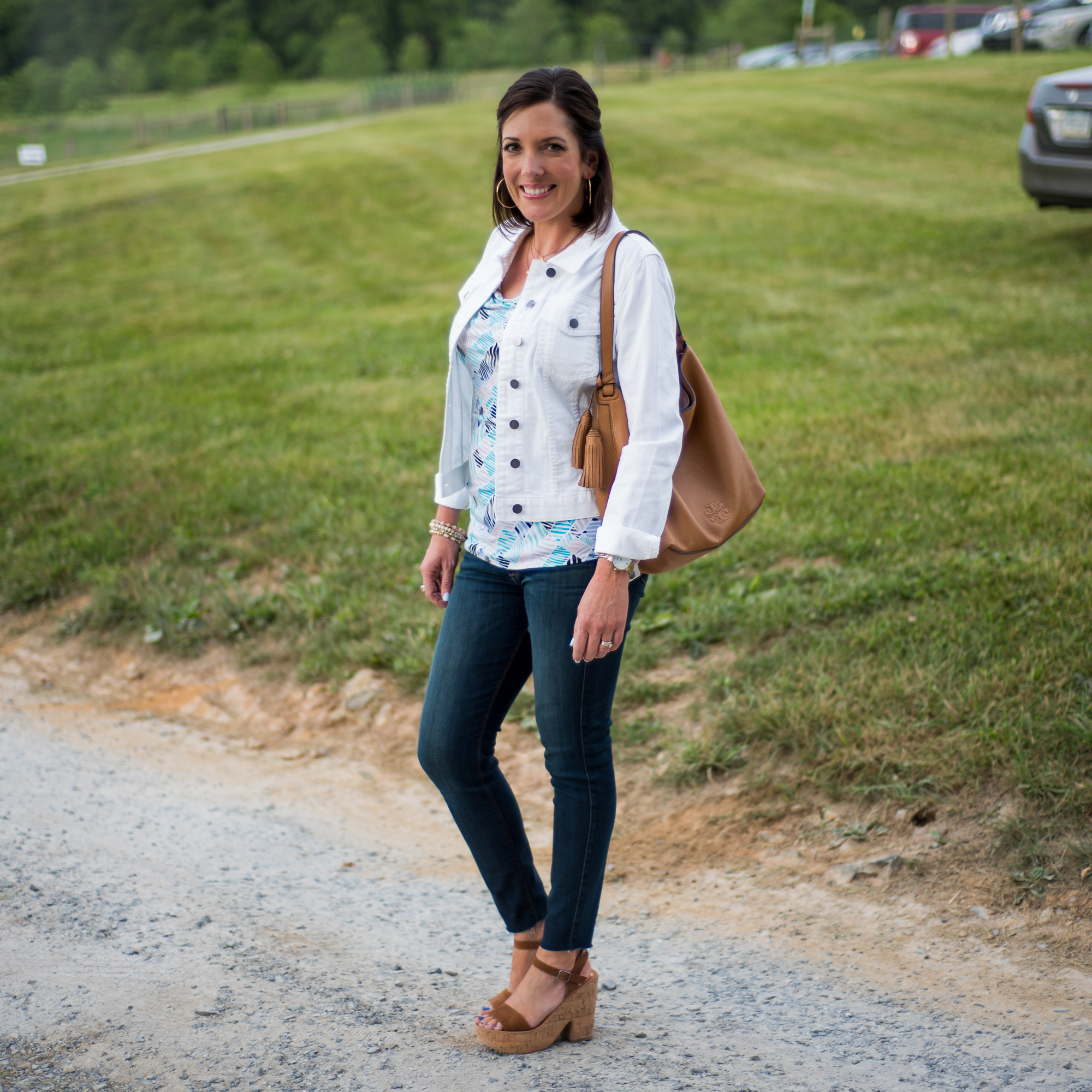 Prints Charming Casual Summer Dinner Outfit