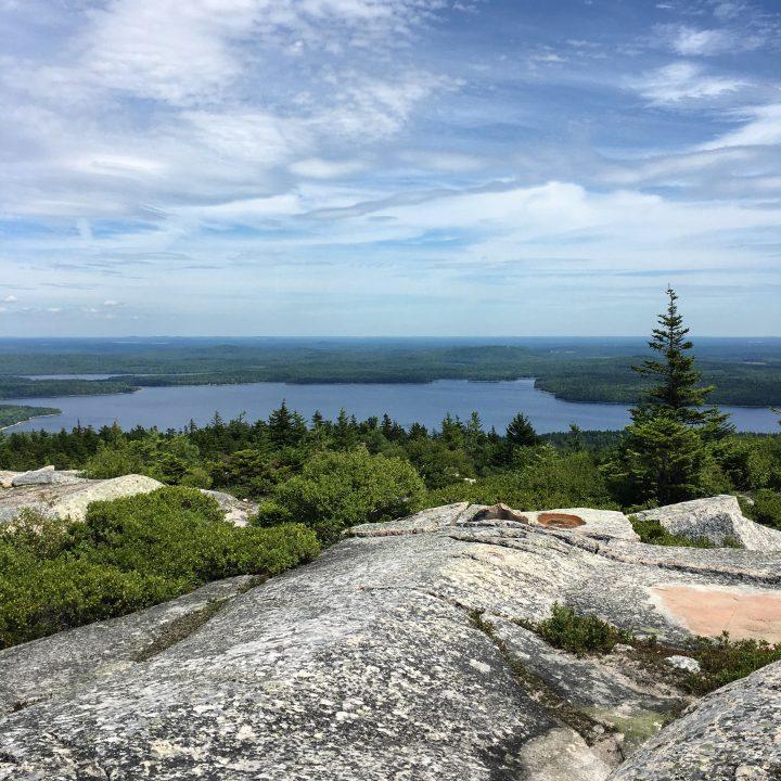 The Summit, Black Mountain Hike. Sullivan, Maine