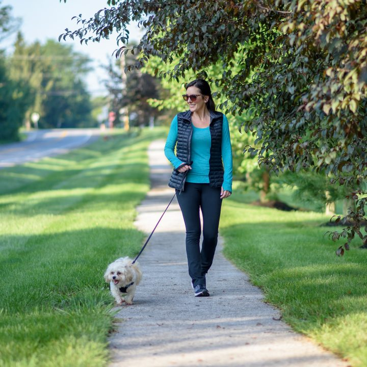 The Perfect Walking the Dog Outfit for Fall