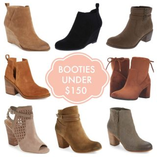 booties under 150 square