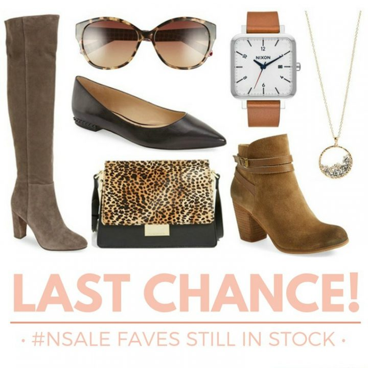 Last Chance! #NSale Faves Still In Stock