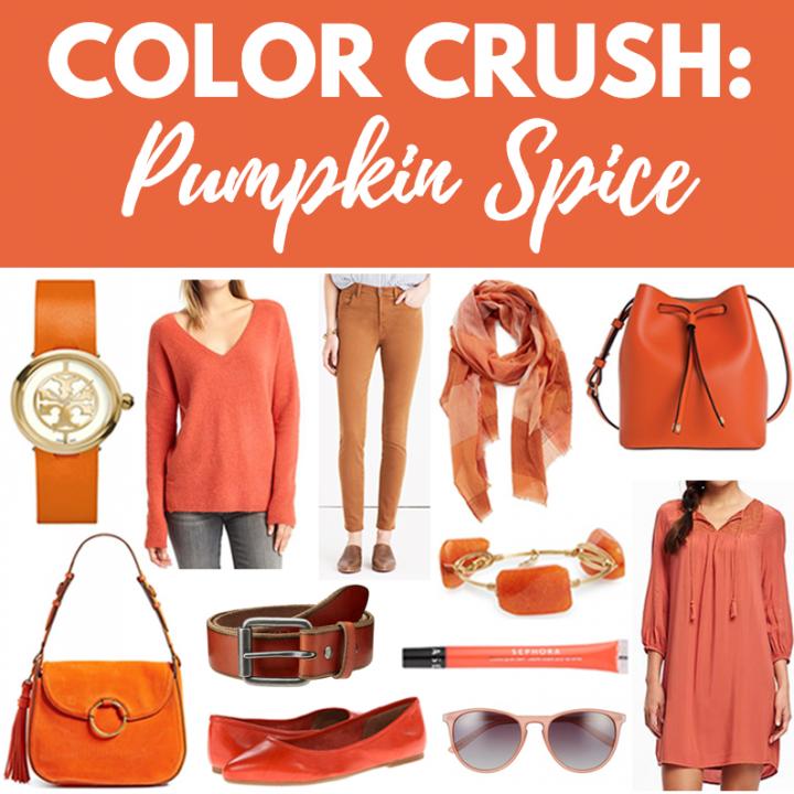 Color Crush: Pumpkin Spice