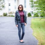 Fall Fashion Outfit Inspiration: Leather & Lace