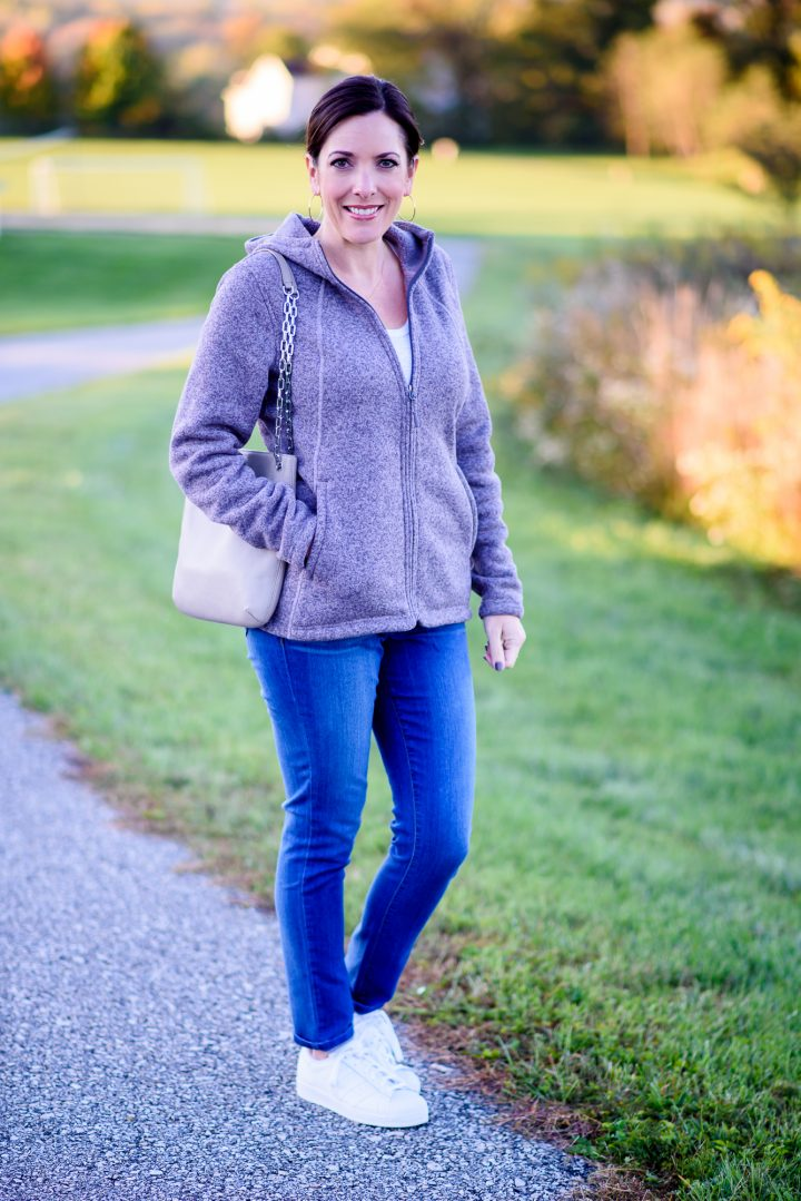 Fall Soccer Mom Outfit