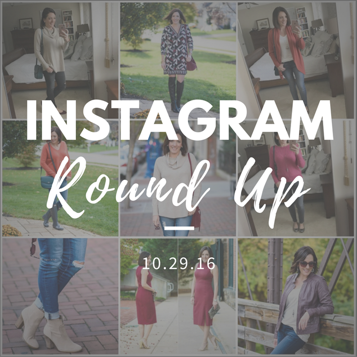 Instagram Roundup // What I Wore This Week 10.29.16
