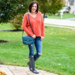Fall Rainy Day Outfit