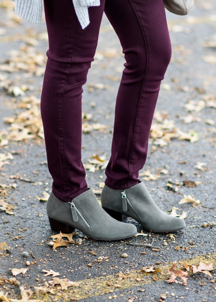 How to Wear Ankle Boots with a Low Shaft