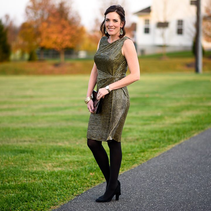 Holiday Cocktail Party Outfit #MomsDoHolidayStyle